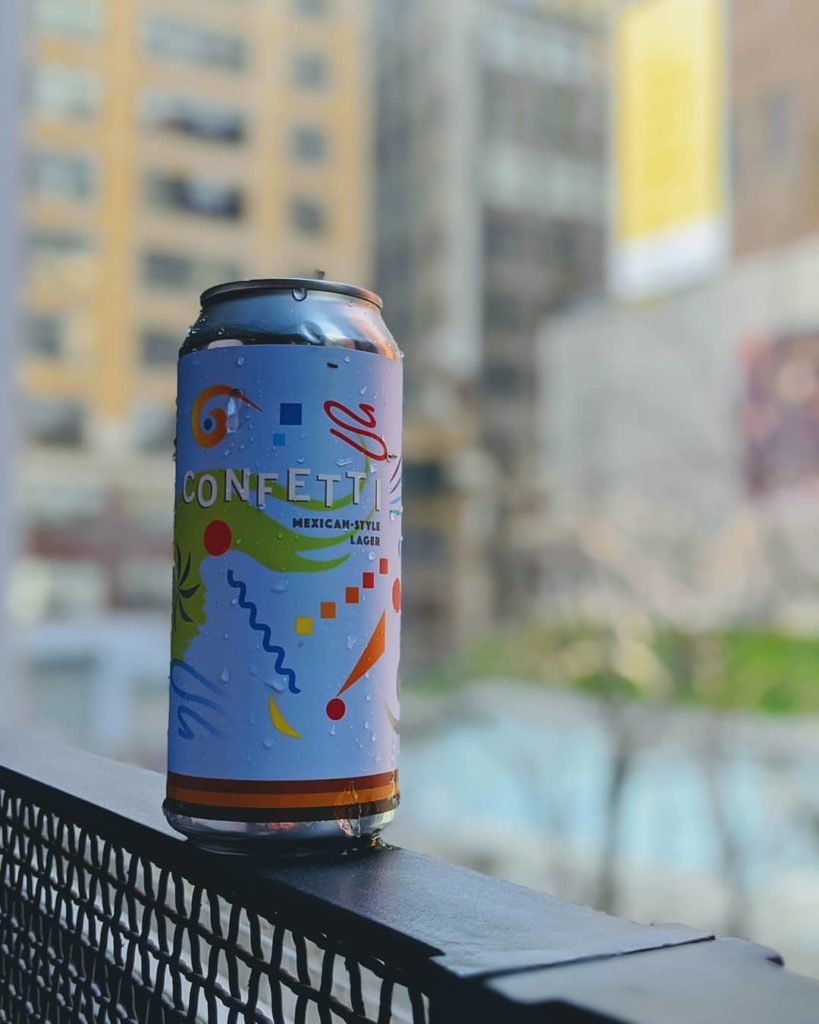 It's a sunny day for Confetti here in NYC, and we're pouring at @second.nyc for…